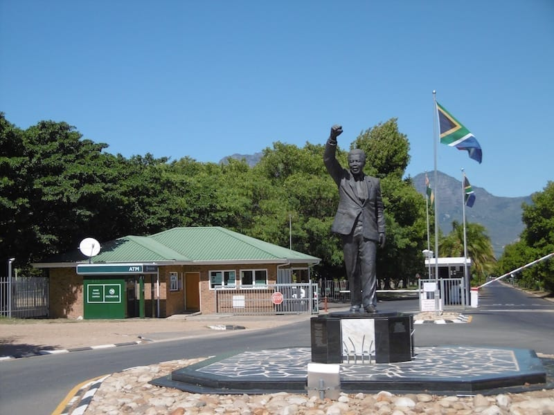 Nelson Mandela's Walk to Freedom from Paarl Prison, South Africa