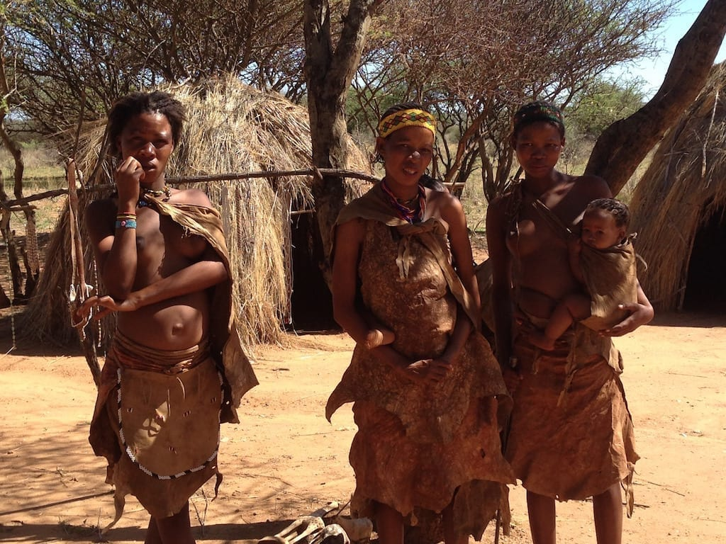 San Women at Naankuse Foundation in Windhoek, Namibia