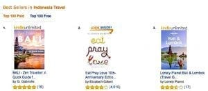 #1 Kindle Bestselling Author