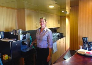 Coffee Bar outback explorer bar indian pacific