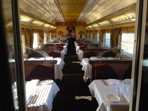 Queen Adelaide Restaurant aboard Indian Pacific