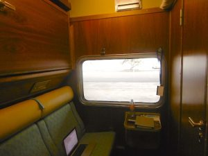 Indian Pacific Gold Class Cabin - Luxury Train Travel