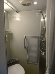 Indian Pacific Train Gold Class Private Bathroom