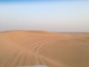 Dune Ride in Dubai