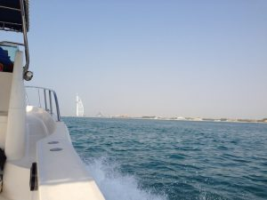 Yacht Cruise towards Burj Al Arab