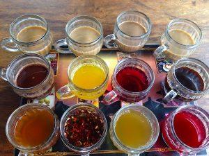 Coffee and Tea free tasting at plantation