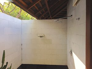 Menjangan outdoor shower