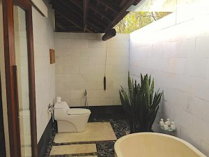 Menjangan outdoor toilet