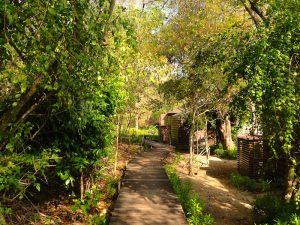 Beach Villas walkway