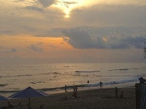 Canggu Beach sunset