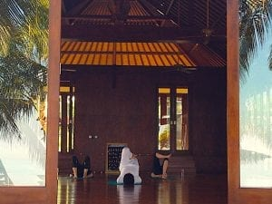 Yoga at Puri Bagus Lovina