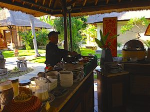 Puri Bagus breakfast buffet