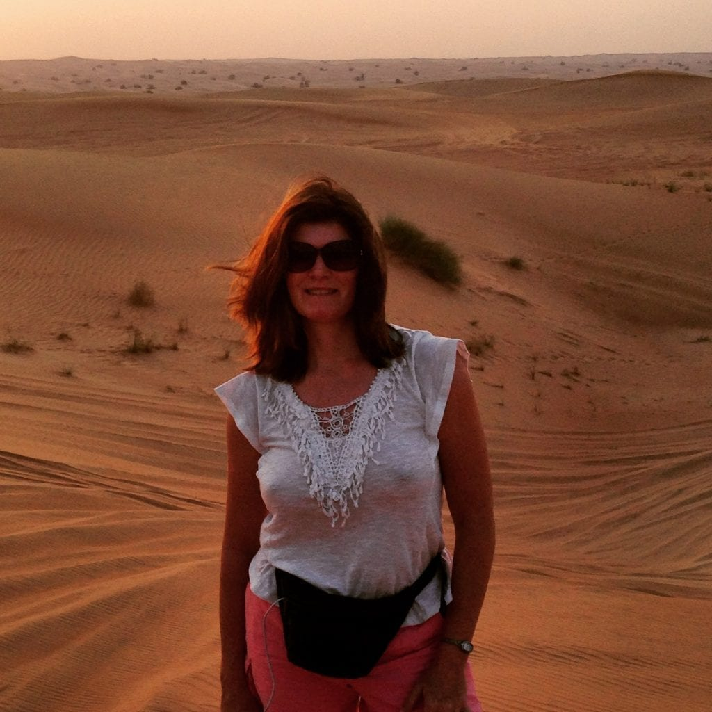 SAssyZenGirl in the Dubai Desert