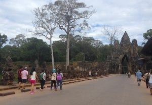 South Gate, Angkor Thom, Cambodia