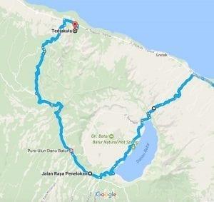 Road Trip to Kintamani, Bali