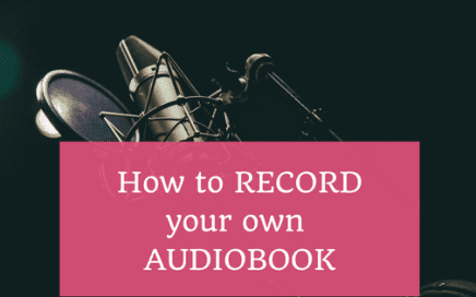 how to record your own audio book